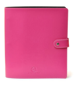 Queen & Company Bling Pink Binder