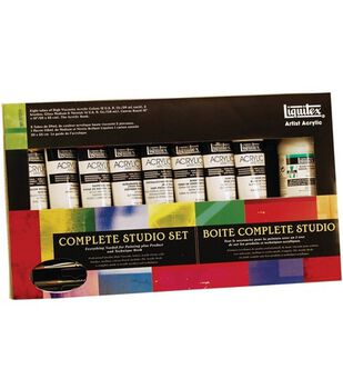 Liquitex Heavy Body Acrylic Paint Complete Classic Set-15 Pieces