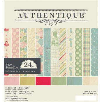 Authentique Precious Bundle Cardstock Pad