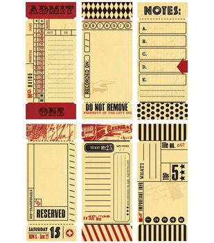"Tickets-Journal 1.5""X3.5"" 12/Pkg"