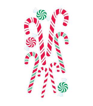 Sandylion Dimensional Stickers-Candy Canes