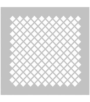 FabScraps Plastic Diamond #2 Stencil