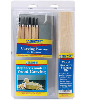Midwest Wood Carver's Starter Kit