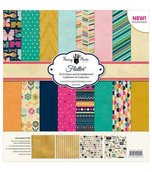 Fancy Pants Flutter Designs Collection Kit 12''x12''