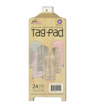 Prima Marketing Julie Nutting Armoire Mixed Media Tag Pad