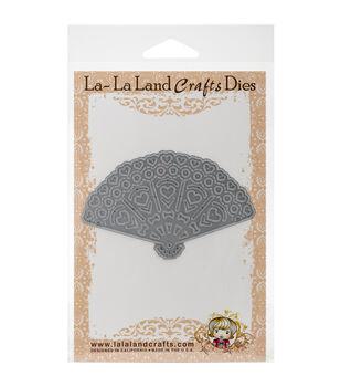 La-La Land Crafts Heart Fan Die