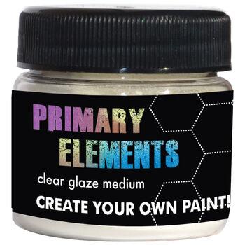 Splash Of Color Primary Elements Clear Glaze Medium
