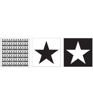 Folkart Layering Stencils 3pc-Star