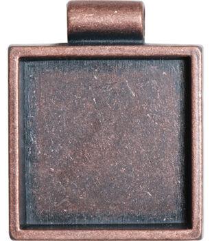 Lisa Pavelka Bezel 1/Pkg-Antique Copper Square