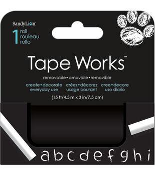 Blk Chalkboard Accent Tape