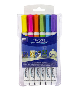 Glass Paint Marker Multi Pack