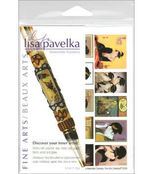 Lisa Pavelka Waterslide Transfer Set-FineArts
