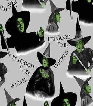 Wizard of Oz Witch Fleece Fabric Fabric