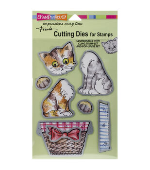 Stampendous Kitties Pop Up Die Set