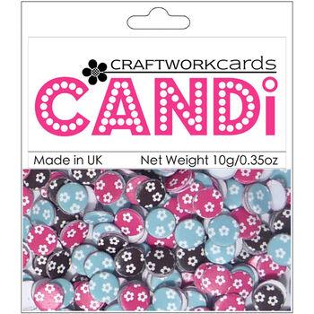 Craftwork Cards Candi Dot Printed Embellishments Mia