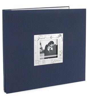 12''x12'' Expressions Postbound Album-Travel