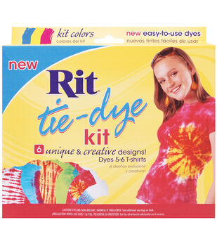 Rit Tie-Dye Kit-Red, Blue, Yellow