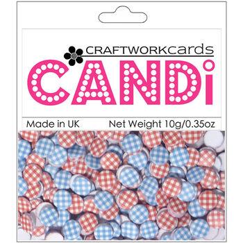 Craftwork Cards Candi Dot Printed Embellishments Galaxy