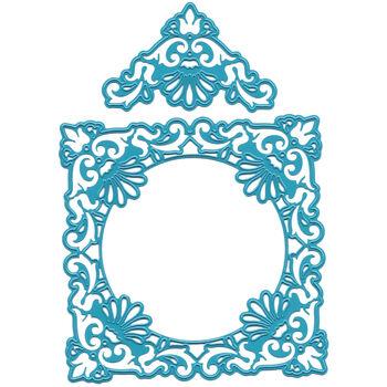 Joy! Crafts Cut & Emboss Die Ornate Square Frame & Delicate Corners