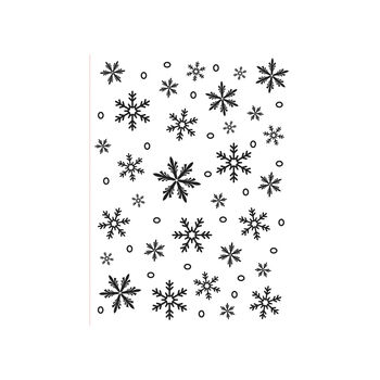 Darice® Embossing Folder - Snowflakes, 4-1/4 x 5-3/4 inches