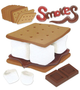 Jolee's Boutique Dimensional Sticker-Smores
