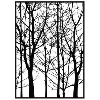 IndigoBlu Cling Mounted Stamp Bare Forest
