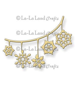 La-La Land Crafts Snowflake Banner Die