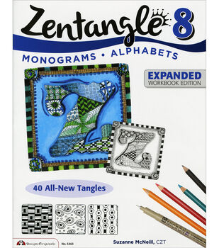 Zentangle 8 Expanded Workbook Edition