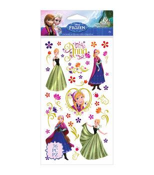 Disney's Frozen Stickers-Anna & Flowers