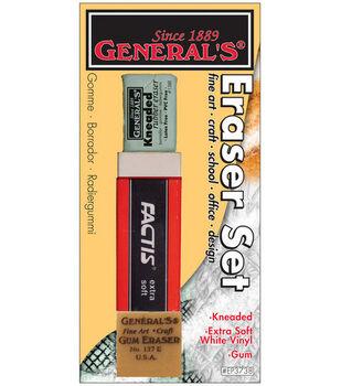 Eraser Set 3/Pkg