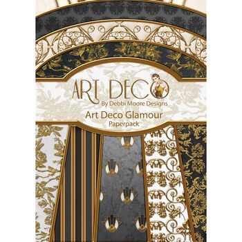 Debbi Moore Designs Art Deco Paper Pack Glamour