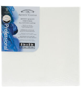 """Winsor & Newton Quality Stretched Canvas-8""""X8"""""""