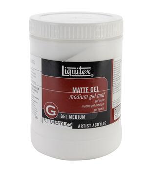 Liquitex Matte Gel Medium-32 Ounces