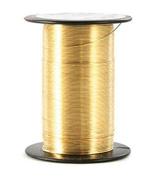 28 Gauge Wire 35 Yards/Pkg-Gold