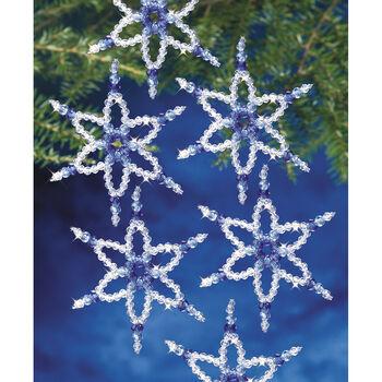6 Pnt Star-beaded Ornament Kit