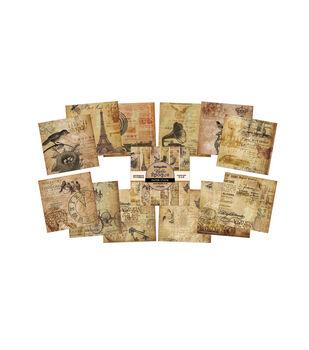 IndigoBlu Belle Epoque Paper Stack Cardstock 6''x6''