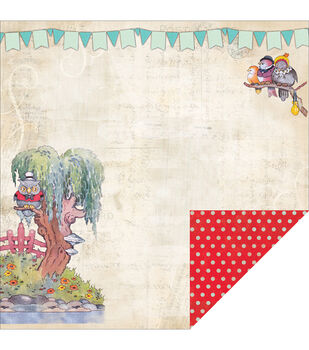 "Storybook Double-Sided Cardstock 12""X12""-Chapter 1"