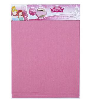Disney Laminated Pink Cotton Sheet Princess