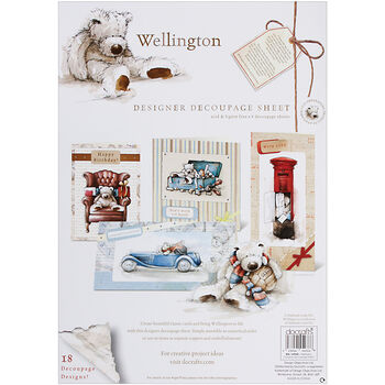 Docrafts Wellington Decoupage Sheets Time Out