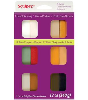 Sculpey III Multi Packs-Naturals