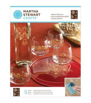 Martha Stewart Crafts Glass Silkscreen Ornate Accents
