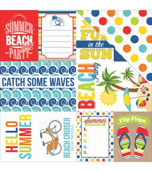 Journ Card-beach Party Papr 12