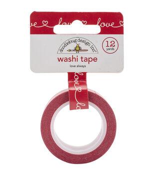 Washi Tape 15mmX12yd-Love Always