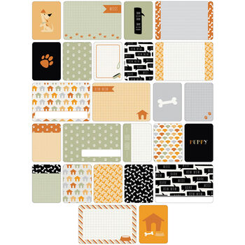 Project Life Themed Cards 40/Pkg-Dogs