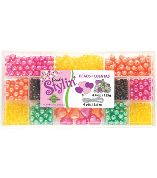 Bead Stylin' Bead Box Kit 4.4 Ounces/Pkg-Citrus