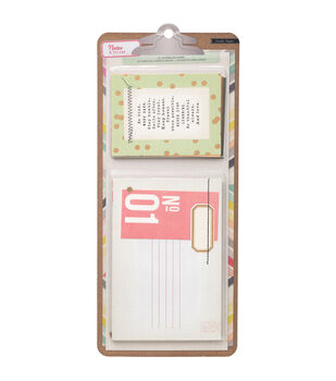 Notes & Things Journaling Cards 20/Pkg-