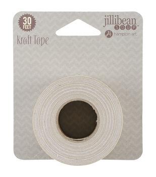 Jillibean Soup Soup Staples Dots 3 Sides Kraft Tape