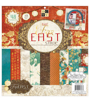 Die Cuts With A View Premium Paper Stack Far East