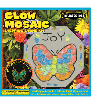 Milestone Glow In The Dark Mosaic Stone Kit