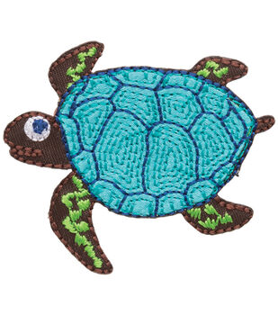 Simplicity Iron-On Applique-Sea Turtle